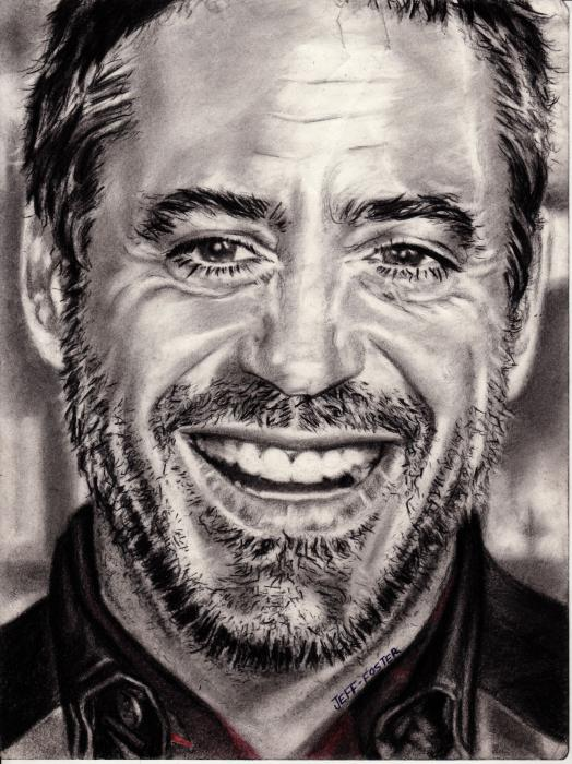 Robert Downey Jr by jeffcoolfoster92